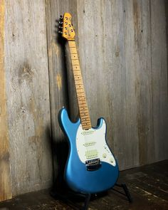 Check out the awesome roasted maple neck on this Ernie Ball Music Man Cutlass SSH. Give it a spin and see every detail with our 360 photos at elderly.com. Vintage Turquoise, Electric Guitars, Spin, Detail, Classic, Awesome, Check, Music, Modern