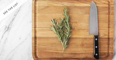 How to chop parsley, sage and rosemary