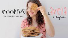 Cookies de Aveia Integrais