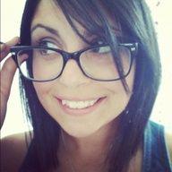 Girl Glasses Short Black Hair