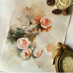 Watercolor Paintings 🎨 آبرنگ (@mahmoudi_watercolorist) • Fotos e vídeos do Instagram