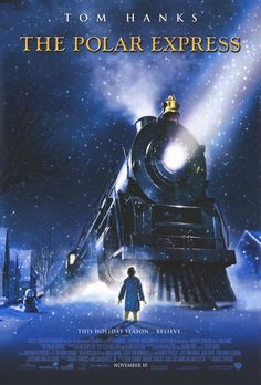 The Polar Express (2004).  Quickly becoming a family favorite each year.