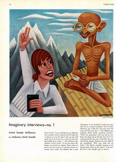 Vanity Fair Impossible Interview Artist Miguel Covarrubias by *vanessa.,