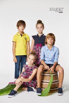 1e6b8c7a54 Biel, Carmen, Zhenya & Noahn from Sugar Kids for Carolina Herrera spring