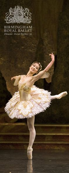 Birmingham Royal Ballet - Sleeping Beauty; Nao Sakuma; photo: Bill Cooper                                                                                                                                                                                 More