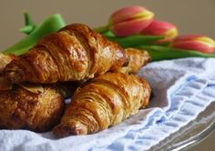 Homemade croissants & pain au chocolat from the Bourke Street Bakery book