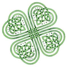 celtic knot shamrock @ colleen look what just randomly popped up on here?! Love you