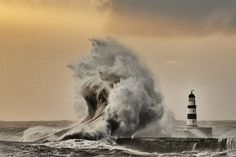 Seaham Harbour. Temperature fell to freezing overnight in some areas.Picture: Paul Kingston/North News & Pictures