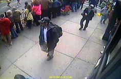 FBI releases footage of two suspects in Boston Marathon bombing