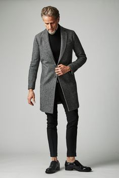 Fashion For Men Over 50, Older Mens Fashion, Man Fashion, Fashion Outfits, Fashion Clothes, Winter Wear, Casual Looks, Winter Outfits, Personal Style