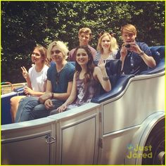 ross lynch laura marano wdw summer kick off party 02