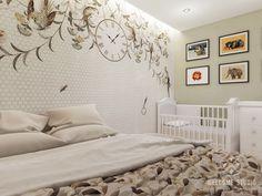 Однокомнатная квартира в Нижнем Новгороде - Home and Garden Small Apartments, House Plans, Cottage, Bedroom, Furniture, Design, Home Decor, Little Cottages, Interiors