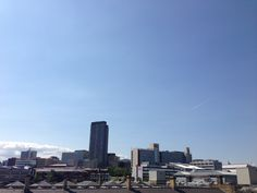 View from Sheffield Train Station