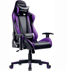 GTRACING Gaming Chair Racing Office Computer Game Chair Ergonomic Backrest and Seat Height Adjustment Recliner Swivel Rocker with Headrest and Lumbar Pillow E-Sports Chair Red Computer Desk Chair, Gaming Chair, Gaming Computer, Perfect Image, Perfect Photo, Love Photos, Cool Pictures, Video Game Music, Back Seat