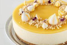 Aperol cheesecake - kagen til din næste fest Mango Mousse Cake, Mango Cheesecake, Mango Cake, Chocolate Cheesecake Recipes, Easy Cheesecake Recipes, Pumpkin Cheesecake, Easy Cake Recipes, Dessert Recipes, Gelato Cake