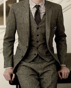 lots of tweed
