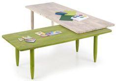 Ława drewniana rozkładana ławy stoliki BORA 50x200