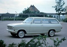 My first car...mine was red...1964 Opel Kadette
