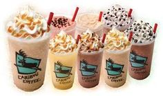 Love almost every flavor of cooler at Caribou! Coffee Logo, Coffee Menu, Coffee Type, Coffee Bean Direct, Restaurant Gift Cards, Caribou Coffee, Buy Coffee Beans, Starbucks Drinks, Fishing