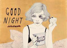 Good Night Icecream ⓒ Madame Lolina