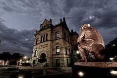 Brockton City Hall / Firemen's Memorial Statue