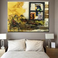 Never more Painting wall pictures Abstract Art wall painting for home decor ideas print on canvas oil painting No Framed