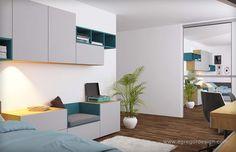 Mobila copil pal, design interior si mobilier pentru tineri casatoriti.