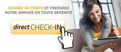 Service direct CHECK-IN | Hotels Premiere Classe