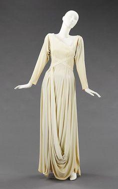 Dress by Valentina, 1935, via The Metropolitan Museum of Art.