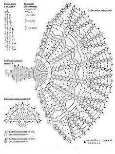 Crinoline Lady Crochet Pattern: