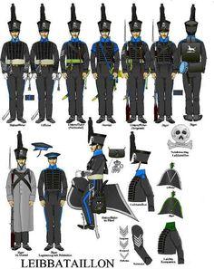 Brunswick - Quatre-Bras - Page 2 British Uniforms, German Uniforms, French Revolution, American Revolution, Bataille De Waterloo, First French Empire, Uniform Insignia, Army Uniform, Military Uniforms