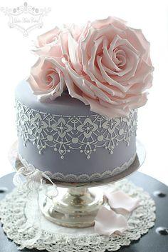 Pink tea roses | by Leslea Matsis Cakes