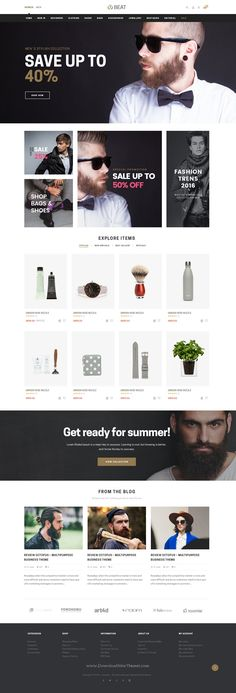 Beatshop is cool and elegant Responsive Shopify #Theme for multipurpose #eCommerce #website. Download Now!