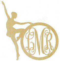 Dancer with Circle Border