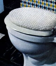 Toilet Seat Cover crochet pattern from Contemporary Crochet Throughout the  Home Coats a covers Free and