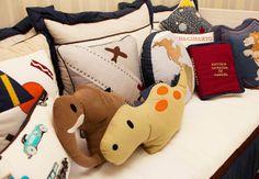 Almofadas para quartos de meninos