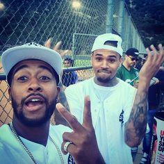 Chris Brown and Omarion