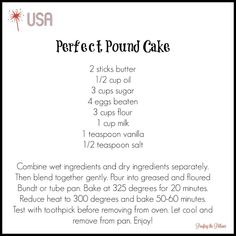 One of Our Favorite Recipes for Patriotic Friday and a Giveaway Announcement!