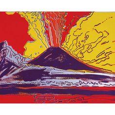Mount Vesuvius by Andy Warhol