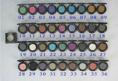 MAC 1.5g EyeShadow refill pans PALETTE PAN 100PCS