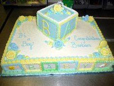 Baby Shower Sheet Cakes | Baby Shower Cakes For Girls Sheet Cake Pinterest