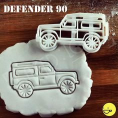 Land Rover Defender 90 Inspired Cookie Cutter by Bakerlogy