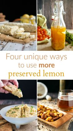 Four easy and unique recipes to please the preserved lemon lover in your life.