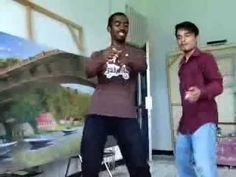 melukis sambil joget afrika with bessa madagaskar
