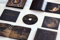 "Album cover Design ""Swing Inc."" by Peggy Hsu on Behance"