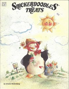 Snickerdoodles Treats by Ursula Wollenberg Tole Painting Book, FI149 by PhotographyByRoger on Etsy