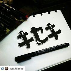 #Repost artwork karya @herkiutama  Follow tag dan mention hasil gambarmu pada kami dan dapatkan kesempatan tutor dengan artist-artist gambar Indonesia. Juga kesempatan menjadi salah satu artist di @sneakypieceproject  A Happiness Project by @sneakypiece  #Goodtype #thedailytype #typematters #belmenid #kaligrafina // #typographyinspired #typographie #typography #handtype #handlettering #handmadefont #handwritten #typographyinspired #typography #typographie #typelove #lettering #letteringco…