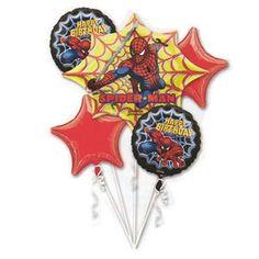 Spider-Man (Birthday) Balloon Bouquet