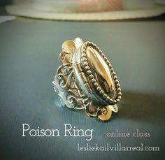 POISON RING Online class Poison Ring, Rings Online, Gemstone Rings, Rings For Men, Gemstones, Jewelry, Men Rings, Jewels, Schmuck