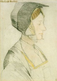 Hans Holbein the Younger | Portrait of Elizabeth Dauncey, Lady Barkley